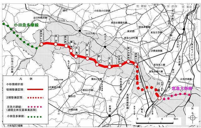 【交通】横浜市営地下鉄ブルーライン、小田急線の「新百合ヶ丘」まで延伸へ ->画像>7枚